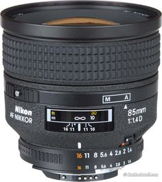 Nikkor 85mm f/1.4 AF-D ~ Easily the best Nikkor I have ever owned which produced the most published images of mine.