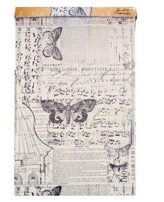 Tim Holtz - District Market Collection - Idea-ology - Tissue Wrap Paper - Melange