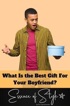 Are you having some trouble figuring out what the best gift is for your boyfriend? Look no further, I have some ideas to knock his socks off! Suit Fashion, Daily Fashion, Business Casual Men, Men Casual, Gifts For Your Boyfriend, Mens Clothing Styles, Looking For Women, Casual Looks, Best Gifts
