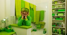 Elizabeth Sweetheart, 74, is a local icon who is known for both her lime wardrobe and her evergreen approach to life.