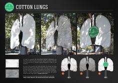 MK Mountain Resort: Cotton Lungs #Advertising #Airpollution | #public #print #tree #streets #arrow #campaign #ambient #creative #guerillamarketing #guerilla #ambient #marketing <<< repinned by www.GuerillaMarketing-Hamburg.de a subsite of www.BlickeDeeler.de