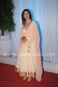 Sushmita Sen at Esha's wedding reception