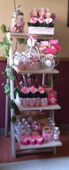Baby girl welcome candies