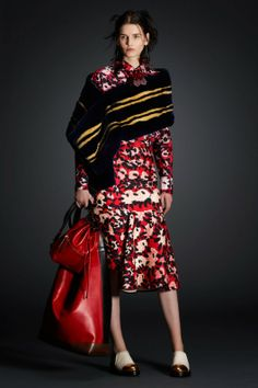 Marni Pre-Fall 2014. Love the dress!