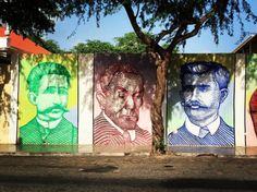 Streetart, mural - Sao Vicente, Cape Verde #Kaapverdie