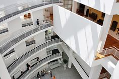 Interior of The High Museum of Art