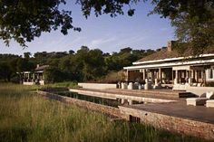 Singita Serengeti House pool deck