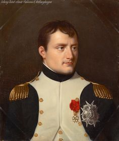 Portraits of Emperor Napoleon I by Robert Lefevre.