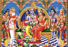 Who is Lord Rama..?  Rama is the 7th incarnation among ten avatars of Lord Vishnu, the supreme god. He is also portrayed in ancient Vedic texts. It is also believed that anyone who spells his name can get...Read More..http://goo.gl/BZcGS1