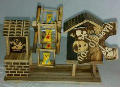 kerstmisgiften antieke zuivere wol multifunctionele beer muziek box music box decoratie log gratis verzending