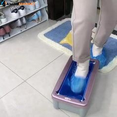 ★【The Shoe Covers Machine is Automatic】: Automatic shoe cover dispenser will easily and efficiently cover the shoes, save your valuable time. It is made of PPT ABS safe to use and environmentally friendly. Creative Inventions, Family Command Center, Kitchen Organisation, Metal Clock, High Tech Gadgets, Home Tools, Cool Gadgets To Buy, Best Eyebrow Products, Home Room Design