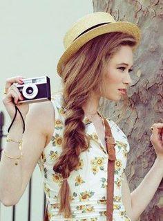Sombrero con trendza para un lado #elplanetadelasmarcas.es #welovefashion #veranito #playa