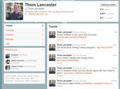 Thom Lancaster on Twitter