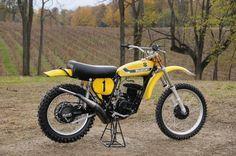1973- Suzuki RN73 Works Bike of Roger DeCoster