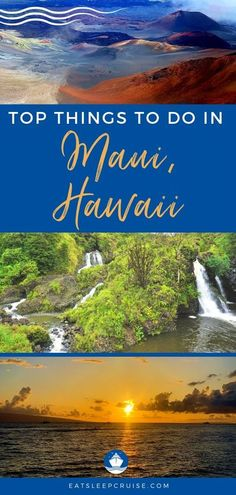 Top Things to Do in Maui, Hawaii on a Cruise | EatSleepCruise.com. Wondering what you should do during your visit to Maui? We have put together our list of the Top Things to Do in Maui, Hawaii on a Cruise. #cruise #Hawaii #HawaiiCruise #thingstodo #eatsleepcruise Kauai, Maui Luau, Maui Hawaii, Hawaii Vacation Tips, Cruise Vacation, Cruise Tips, Vacation Ideas, Vacations, Maui Travel