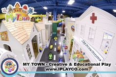My Town Overview | by Iplayco - INTERNATIONAL PLAY Playground Equipment…