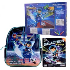 Ghiozdan mic Miles + Puzzle Lunch Box, Puzzle, Baseball Cards, Disney, Character, Puzzles, Bento Box, Disney Art, Puzzle Games