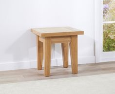 Cambridge Oak Lamp Table