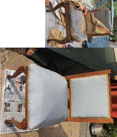 restyling di una vecchia sedia