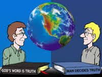 God's Word is Truth versus man decides truth