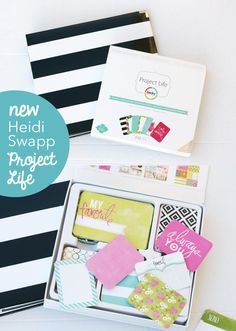 School Album with New Heidi Swapp & Project Life - My Sister's Suitcase - Packed with Creativity