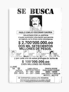 Pablo Emilio Escobar, Pablo Escobar, Pictures