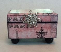 Paris In Pink Decorative Box