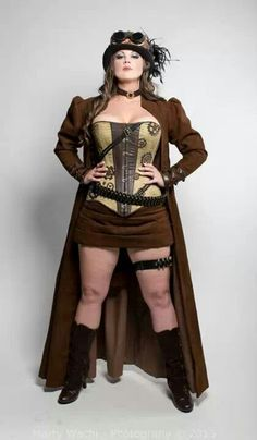 I LOVE this! And I love that she is not stick skinny. Women with CURVES cosplay too! Women Big Size Clothes - http://amzn.to/2ix7dK5
