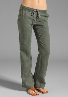 """Tailored Linen Pant from Lyst - would make a great component of your """"uniform"""" for work!"""