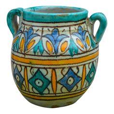 Ceramic Pots, Terracotta Pots, Ceramic Pottery, Painted Pots, Hand Painted, Fez Morocco, Moorish, Ceramic Painting, Terra Cotta