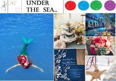 Ariel Disney Wedding Ideas #weddings #disney #ariel