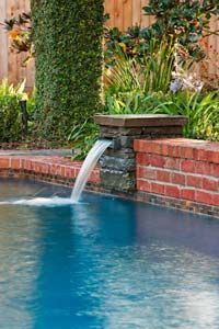 1000 Images About Pool Fountains On Pinterest Pool