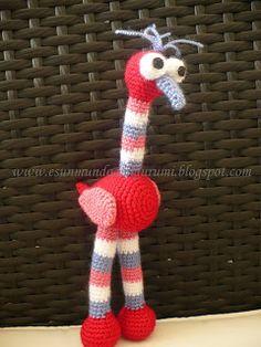 Es un Mundo Amigurumi: El patrón del avestruz...