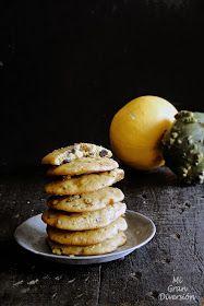 Cookies de calabaza, naranja y chocolate