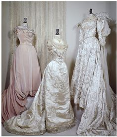 Worth gowns, ca. 1900
