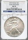 2010 SILVER EAGLE EARLY RELEASES NGC MS70 - $88 - http://www.onlinegoldshopping.net/eagle-ms70/#