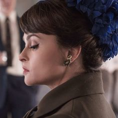 The Crown: Old face: Helena Bonham Carter plays Princess Margaret for the third and fourth series, taking over the role from Vanessa Kirby Princess Diana Fashion, Princess Anne, Princess Margaret, Royal Princess, Helen Bonham, Helena Bonham Carter, The Crown Season, Imelda Staunton, Royal Marriage