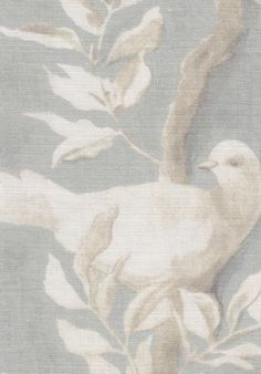 LEWIS & WOOD Dove, summer blue linen print