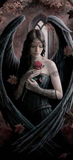 Angel Rose - Anne Stokes