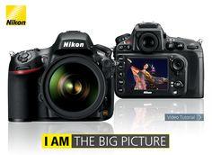 Nikon D800 alta risoluzione, qualità d'immagine impareggiabile e velocità di elaborazione da number one.