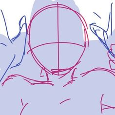 Drawing Tips Head Drawing Body Poses, Body Reference Drawing, Drawing Reference Poses, Anatomy Reference, Drawing Hair, Hand Reference, Drawing Faces, Drawing Techniques, Drawing Tips