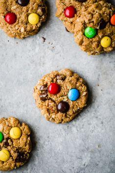 Healthy Cookie Recipes, Healthy Cookies, Healthy Sweets, Healthy Baking, Gourmet Recipes, Dessert Recipes, Free Recipes, Healthy Snacks, Paleo Treats