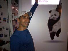 @aleem_v: #artmatters @Luminato Festival with the Telus panda hanging out ;-)
