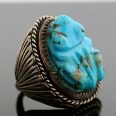 Native American frog ring.