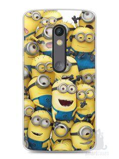 Capa Capinha Moto X Play Minions #1 - SmartCases - Acessórios para celulares e tablets :)