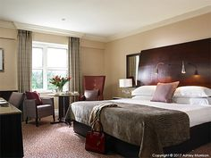 Classic King bedroom in the Killarney Park Hotel in the Irish County of Kerry. King Bedroom, Morrisons, Park Hotel, Staging, Irish, Classic, Furniture, Ideas, Home Decor