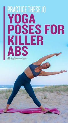Yoga is the perfect tool to help you build core strength. These 10 yoga poses for abs will help you develop and maintain killer abs! Yoga is the perfect tool to help you build core strength. These 1 Vinyasa Yoga, Yoga Restaurativa, Sup Yoga, Ashtanga Yoga, Yoga Flow, Kundalini Yoga, Yoga Meditation, Quick Weight Loss Tips, Weight Loss Help