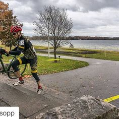 Congrats to #teambatemans racer Bret on his 1st place yesterday at Silver Goose CX! #Cyclocross - Photo by @bisopp