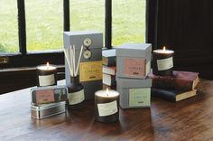 "in LOVE with the Paddywax Library candle collection. Each author's candle ""smells like them,"" and they all smell AMAZING. I want all of them! :)"