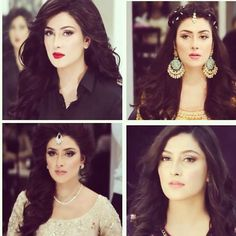 Different looks by Natasha salon! She's looking beautiful in every picture MashAllah#goals#beautyqueen